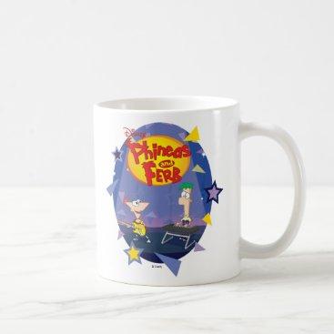 Phineas and Ferb Disney Coffee Mug