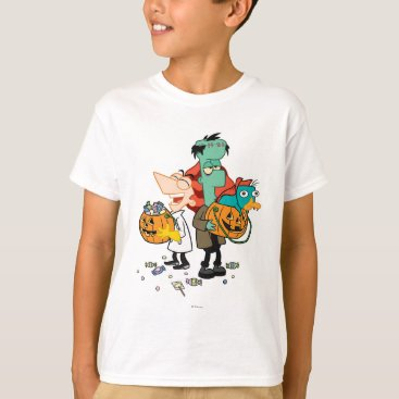 Phineas and Ferb Halloween T-Shirt