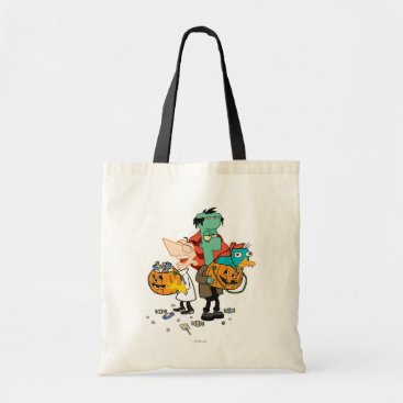 Phineas and Ferb Halloween Tote Bag