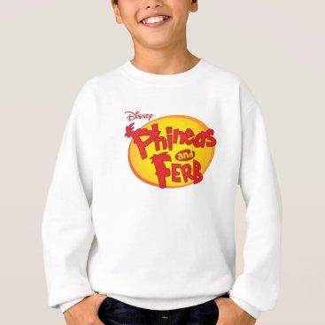 Phineas and Ferb Logo Disney Sweatshirt