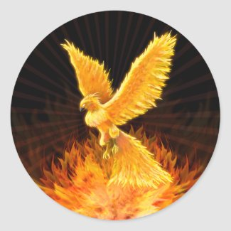 Phoenix Rising - Sticker sticker