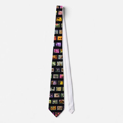 Photo Collage Neck Tie