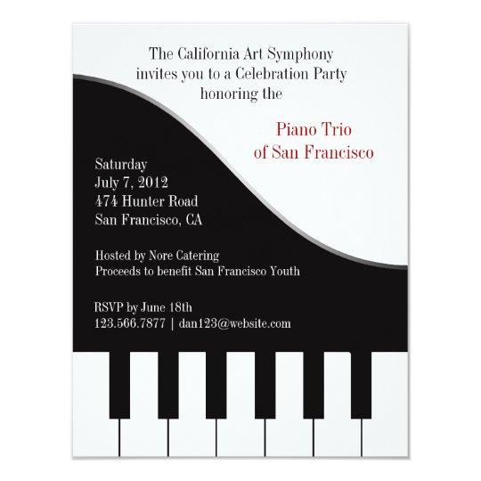 Custom Recital Invitations
