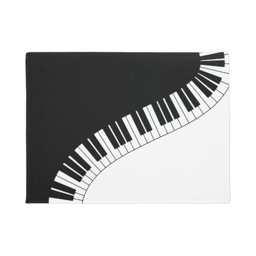 Piano Keyboard Doormat