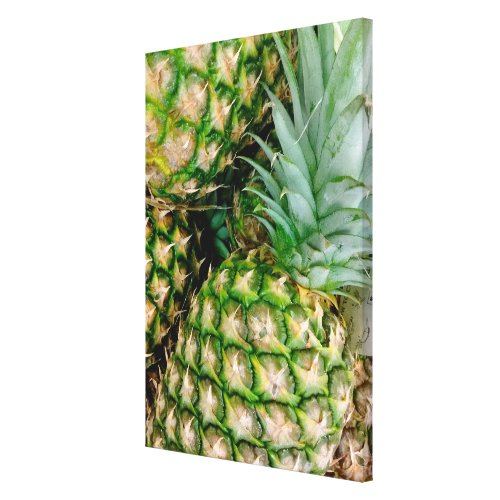 Pineapple Photo Canvas