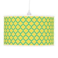 Lattice Table & Pendant Lamps | Zazzle