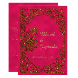 Indian Wedding Invitation Cards And Get Inspiration To Create The Design Of Your Dreams 20