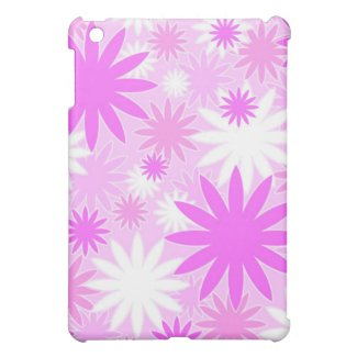 Pink florals - iPad case