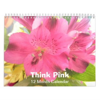 Pink Flowers Photo Flower Photos 2013 Calendar