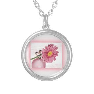 Pink Gerbera Daisy Custom Jewelry