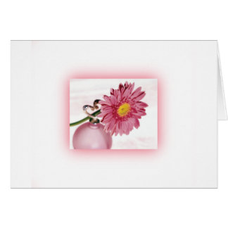 Pink Gerbera Daisy Greeting Cards