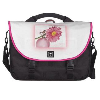 Pink Gerbera Daisy Laptop Computer Bag