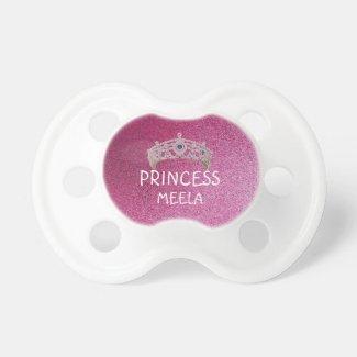 Pink Glitter Princess Booginhead Pacifiers