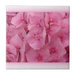 Pink Hydrangea tiles