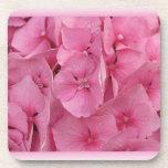 Pink Hydrangea cork coasters