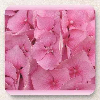 Pink Hydrangea Coasters