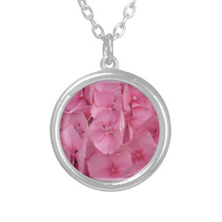Pink Hydrangea Custom Jewelry