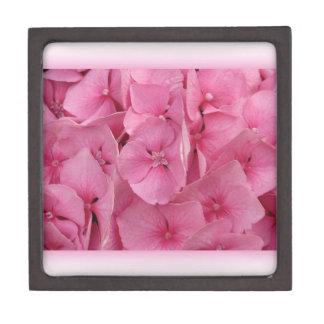 Pink Hydrangea Premium Keepsake Boxes