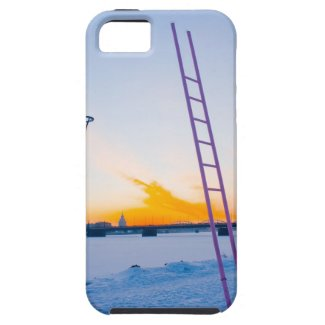 Pink Ladder to Nowhere iPhone 5 Cases