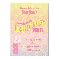 Pink Lemonade Birthday Card