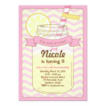 Pink Lemonade Invitation / Pink Lemonade Invite