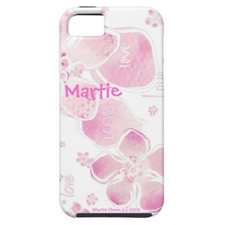Pink Love Blossoms - iPhone 5 Case-Mate Vibe Iphone 5 Cases