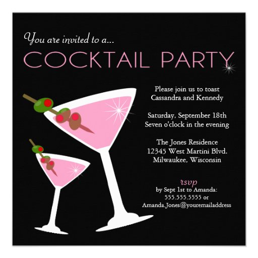 Most Popular Cocktail Party Invitations