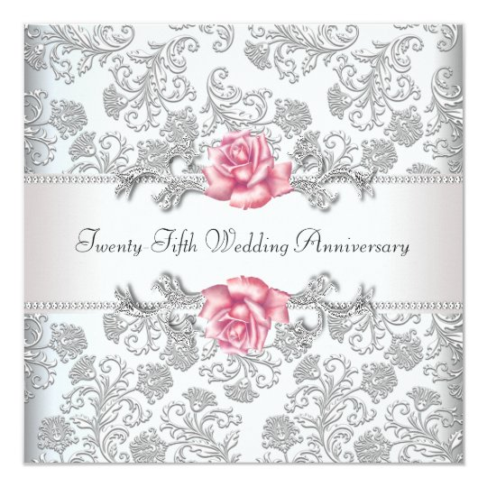 Letterpress Th Wedding Anniversary Invitations Chic Ink
