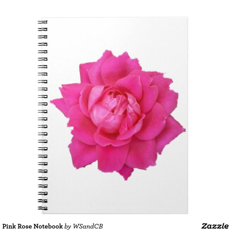 Pink Rose Notebook