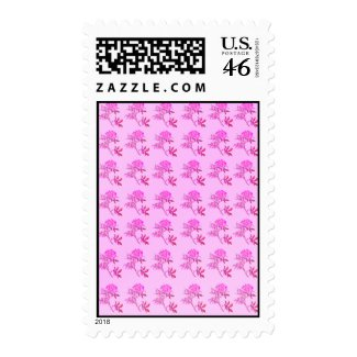 Pink Roses pattern Stamps