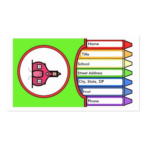 letter monogram template crayon