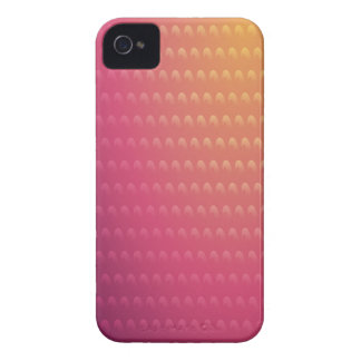 Pink To Orange Gradient Waves iPhone 4 Cases