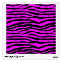 Pink Zebra Wall Decals & Wall Stickers   Zazzle