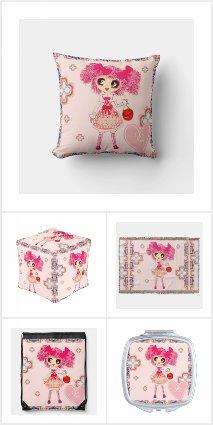 PinkyP Bedroom Pink