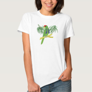 Pirate Parrot with Eye Patch T Shirts
