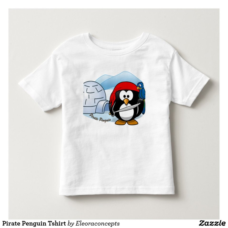Pirate Penguin Tshirt