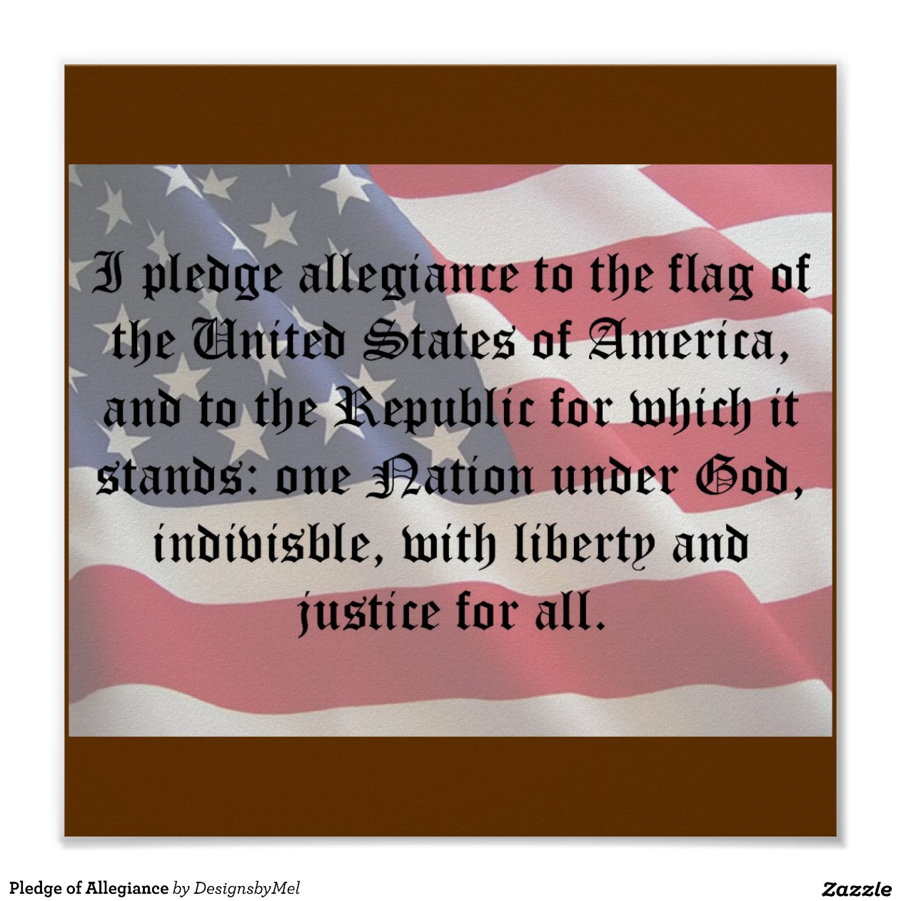 image relating to Pledge of Allegiance in Spanish Printable known as Pledge Of Allegiance In just Spanish Poster - Yr of Fresh new Drinking water