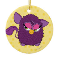 Plum Fairy Furby Christmas Tree Ornaments