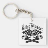 Pipe Wrench Keychains | Zazzle