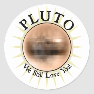 Pluto - We Still Love You sticker