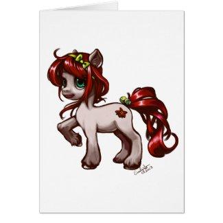 Poinsettia Pony