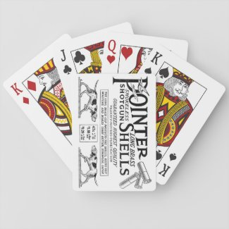 Pointer Shells Playing Cards