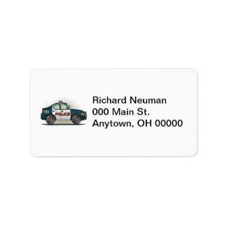 Law Enforcement Shipping, Address, & Return Address Labels