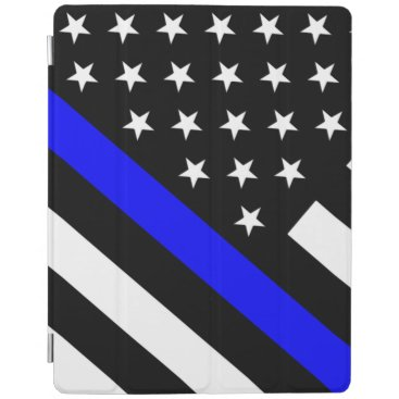 Police - The Thin Blue Line Flag iPad Smart Cover
