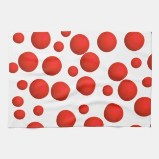 Polka-Dot Bulk Towels