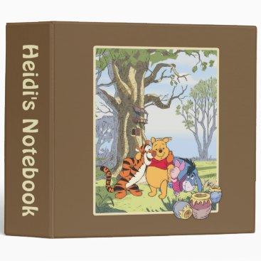 Pooh and Pals Binder