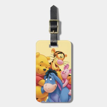 Pooh & Friends 5 Luggage Tag