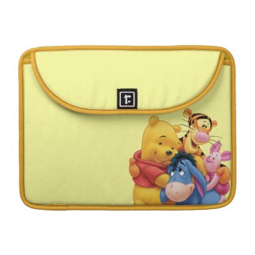 Pooh & Friends 5 Sleeve For MacBook Pro