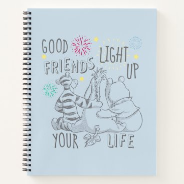 Pooh & Pals | Friends Light Up Your Life Notebook