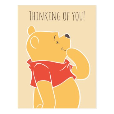 Pooh Thinking of You Postcard